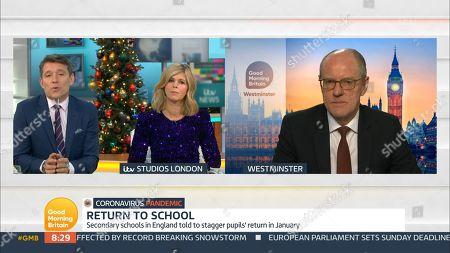 Editorial photo of 'Good Morning Britain' TV Show, London, UK - 18 Dec 2020