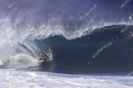 Leonardo Fioravanti - Surfing : WSL Pipe Masters Round of 32 at Pipeline in Haleiwa,  Hawai, U.S.A.