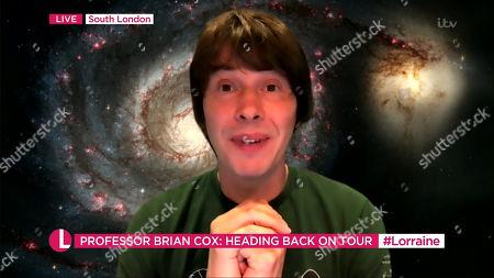 Editorial photo of 'Lorraine' TV Show, London, UK - 18 Dec 2020