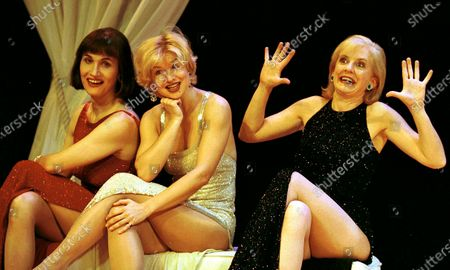 Editorial picture of 'Fascinating Aida' Cabaret performed at the Theatre Royal, Haymarket, London, UK - 08 Nov 2000