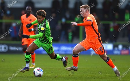 Editorial photo of Forest Green Rovers v Carlisle United, EFL Sky Bet League Two, Football, The New Lawn Stadium, Nailsworth, UK - 19 Dec 2020