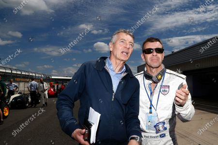 Tony Jardine (GBR) and Paul Stewart (GBR) at the Legends Parade. Formula One World Championship, Rd9, British Grand Prix, Practice, Silverstone, England, Friday 4 July 2014.