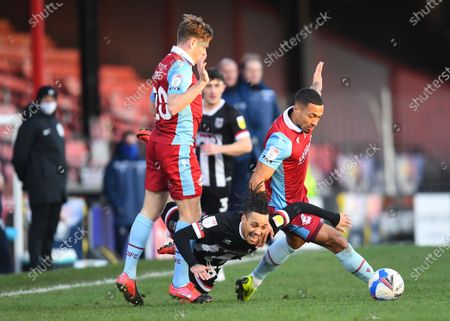Editorial image of Grimsby Town v Scunthorpe United, EFL Sky Bet League Two, Football, Blundell Park, Grimsby, UK - 19 Dec 2020