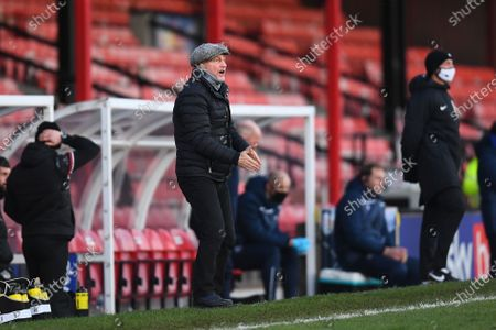 Editorial picture of Grimsby Town v Scunthorpe United, EFL Sky Bet League Two, Football, Blundell Park, Grimsby, UK - 19 Dec 2020