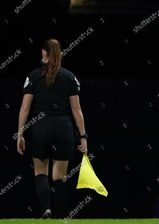 Lineswoman Sian Massey-Ellis