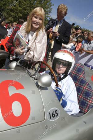 (L to R): Lady Helen Stewart (GBR) and Sir Jackie Stewart (GBR) Mercedes. Goodwood Festival of Speed, Goodwood, England, 27-29 June 2014.