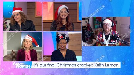 Nadia Sawalha, Stacey Solomon, Kaye Adams, Brenda Edwards and Keith Lemon