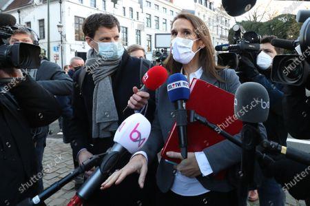 Editorial photo of Politics Consultation Committee, Brussels, Belgium - 18 Dec 2020