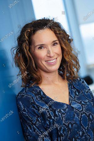 Editorial picture of Marie-Sophie Lacarrau portrait session, Paris, France - 16 Dec 2020
