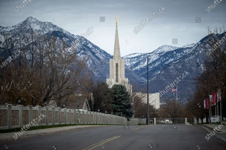 The spire of The Church of Jesus Christ of Latter-day Saints River Jordan Utah Temple seen against the mountains in South Jordan, Utah. . While the church has traditionally been overwhelmingly conservative and Republican, today there's also an increasingly large strain of liberal members. The church has also begun to directly address its history of racism, including a ban on Black priests that it lifted four decades ago