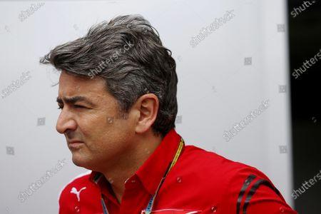Marco Mattiacci (ITA) Ferrari Team Principal. Formula One World Championship, Rd18, Brazilian Grand Prix, Race, Sao Paulo, Brazil, Sunday 9 November 2014.