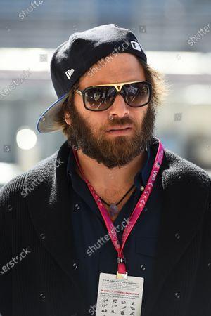 Rick Salomon (USA) husband of Pamela Anderson (USA). Formula One World Championship, Rd17, United States Grand Prix, Qualifying, Austin, Texas, USA, Saturday 1 November 2014.