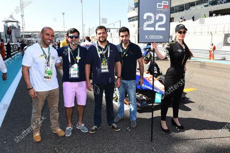 Editorial picture of FIA F2, GP3 Series, Yas Marina Circuit, United Arab Emirates - 23 Nov 2014