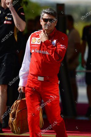 Marco Mattiacci (ITA) Ferrari Team Principal. Formula One World Championship, Rd19, Abu Dhabi Grand Prix, Qualifying, Yas Marina Circuit, Abu Dhabi, UAE, Saturday 22 November 2014.
