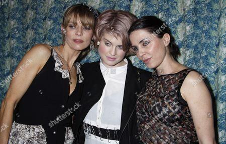 Jemima French, Kelly Osbourne and  Sadie Frost
