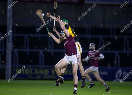 Stock Picture of Galway vs Kilkenny. Galway's Conor Walsh with Martin O'Neill of Kilkenny