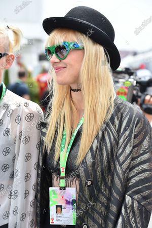 Carlo Boutagy (BRN) and Olivia Nervo (AUS) Musician / DJ at Formula One World Championship, Rd7, Canadian Grand Prix, Race, Montreal, Canada, Sunday 7 June 2015.