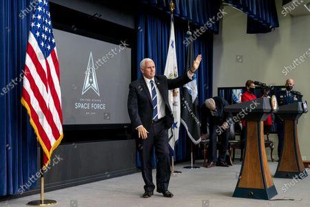 Editorial image of Space Force, Washington, United States - 18 Dec 2020