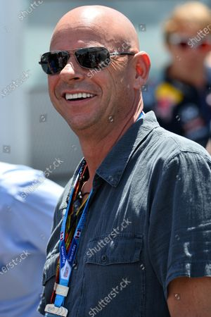 Guy Laliberte (CDN) Cirque de Soleil. Formula One World Championship, Rd7, Canadian Grand Prix, Qualifying, Montreal, Canada, Saturday 7 June 2014.
