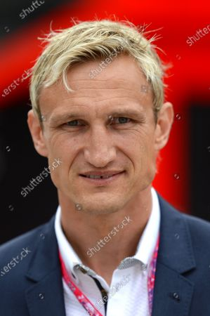 Sami Hyypia (FIN) Football Manager and Former Footballer at Formula One World Championship, Rd9, British Grand Prix, Race, Silverstone, England, Sunday 5 July 2015. BEST IMAGE