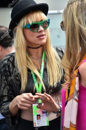 Olivia Nervo (CDN) Musician / DJ at Formula One World Championship, Rd7, Canadian Grand Prix, Race, Montreal, Canada, Sunday 7 June 2015.