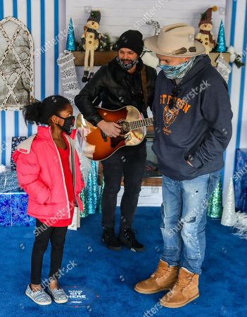 Editorial photo of Shaquille O'Neal Foundation's Holiday Market, Nashville, Tennessee, USA - 18 Dec 2020