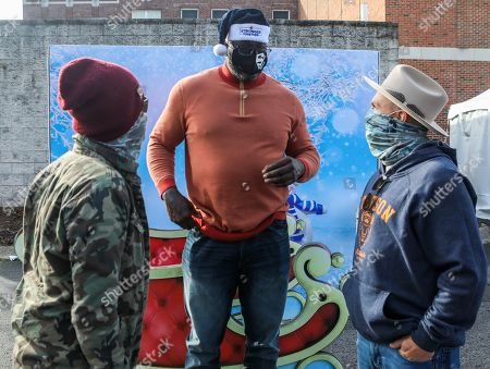 Editorial picture of Shaquille O'Neal Foundation's Holiday Market, Nashville, Tennessee, USA - 18 Dec 2020