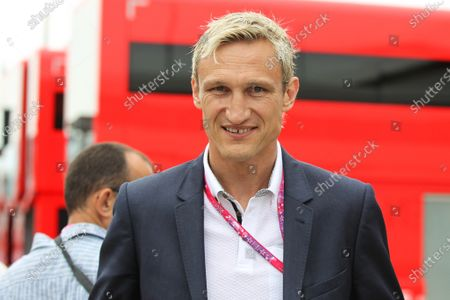 Sami Hyypia (FIN) Football Manager and Former Footballer at Formula One World Championship, Rd9, British Grand Prix, Race, Silverstone, England, Sunday 5 July 2015.