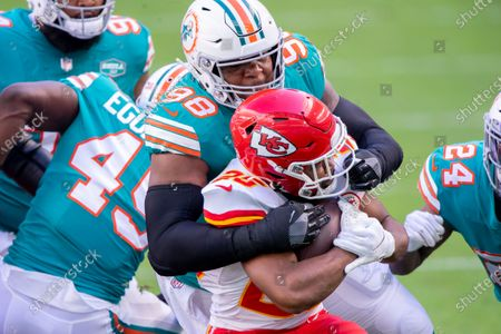Editorial picture of Chiefs Dolphins Football, Miami Gardens, United States - 13 Dec 2020