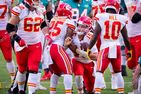 Editorial photo of Chiefs Dolphins Football, Miami Gardens, United States - 13 Dec 2020