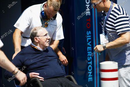 Sir Frank Williams, Team Principal, Williams Martini Racing.