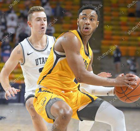 Editorial picture of N Colorado Utah St Basketball, Logan, United States - 18 Dec 2020
