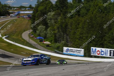 #8 Multimatic Motorsports, Ford Mustang GT4, GS: Chad McCumbee, Patrick Gallagher