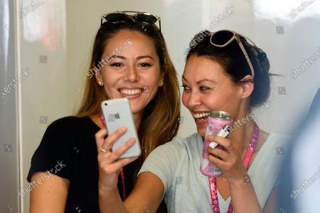 Jessica Michibata (JPN) wife of Jenson Button (GBR) McLaren at Formula One World Championship, Rd12, Italian Grand Prix, Practice, Monza, Italy, Friday 4  September 2015.