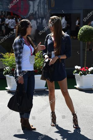 Jessica Michibata (JPN) Wife of Jenson Button (GBR) McLaren at Formula One World Championship, Rd12, Italian Grand Prix, Race, Monza, Italy, Sunday 6  September 2015.