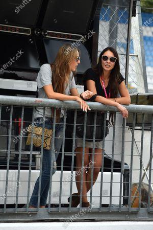 Jessica Michibata (JPN) Wife of Jenson Button (GBR) McLaren at Formula One World Championship, Rd12, Italian Grand Prix, Preparations, Monza, Italy, Thursday 3 September 2015.