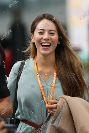 Stock Photo of Jessica Michibata (JPN) Wife of Jenson Button (GBR) McLaren at Formula One World Championship, Rd14, Japanese Grand Prix, Race, Suzuka, Japan, Sunday 27 September 2015.
