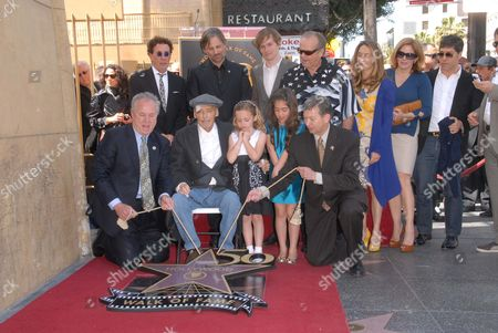 Dennis Hopper, Galen Hopper, Violet Goldstone, Henry Hopper, Ruthanna Hopper, Marin Hopper, Viggo Mortensen and Jack Nicholson