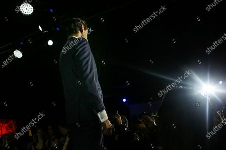 Adrian Sutil (GER) Williams Reserve Driver at Amber Lounge Fashion Show at Formula One World Championship, Rd17, Mexican Grand Prix, Practice, Circuit Hermanos Rodriguez, Mexico City, Mexico, Friday 30 October 2015.