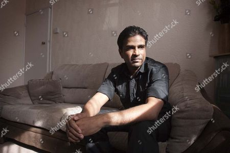 Editorial image of Sri Lankan hunger striker Parameswaran Subramaniyan accused of eating McDonald's burgers, London, Britain - 28 Mar 2010