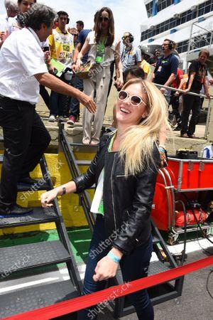 Fiorella Mattheis (BRA) Actress at Formula One World Championship, Rd18, Brazilian Grand Prix, Race, Interlagos, Sao Paulo, Brazil, Sunday 15 November 2015.