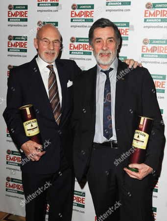 Patrick Stewart with Roger Rees