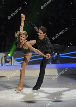 Editorial image of 'Dancing on Ice' TV Programme, Elstree Studios, Borehamwood, Britain -  - 28 Mar 2010