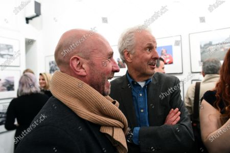 David Winter (GBR) and Perry McCarthy (GBR) at James Hunt, Girls, Beer and Victory Exhibition Official Opening, Proud Chelsea, London, England, 10 February 2016.