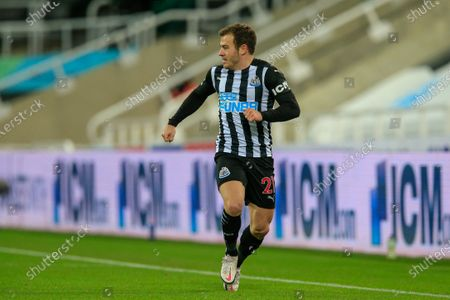 Ryan Fraser #21 of Newcastle United during the game