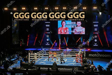 Editorial photo of Boxing at Seminole Hard Rock Hotel and Casino in Hollywood, Florida, USA - 18 Dec 2020