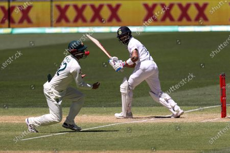 Editorial image of Australia v India, Test Match, Cricket, Adelaide Oval, Adelaide, Australia - 19 Dec 2020