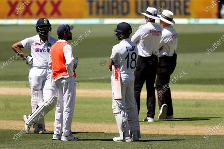 Virat Kohli Captain of India caught out by Cameron Green of Australia