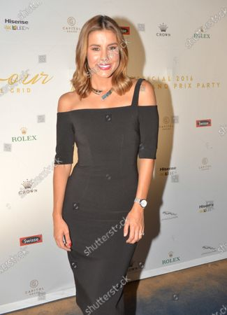 Lauren Phillips (AUS) at the Official Australian Grand Prix Party at Formula One World Championship, Rd1, Australian Grand Prix, Preparations, Albert Park, Melbourne, Australia, Wednesday 16 March 2016.