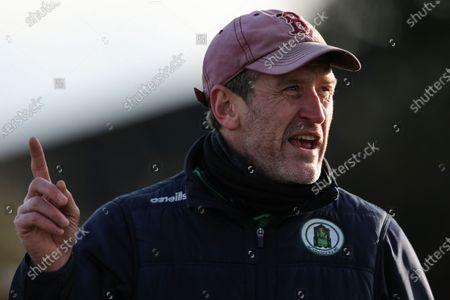 Meath vs Laois. Meath manager John McCarthy